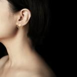 Ginkgo Earrings XS (Gold) - Moorigin