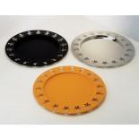 Girotondo Round Tray (Stainless Steel) - Alessi