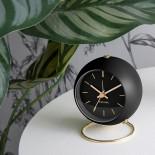 Globe Alarm Clock (Black) - Karlsson
