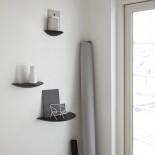 Gridy Fungi Shelf Medium (Black) - Menu