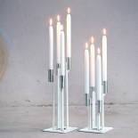Highlights Candleholder Medium (White) - Spell