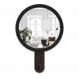 Hub Mirror Hook (Black / Walnut) - Umbra