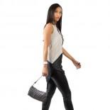 Jamie Handmade Recycled Evening Bag (Black) - Escama Studio