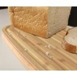 Bread Bin with Bamboo Lid / Cutting Board (Black) Joseph Joseph