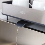 Extend™ Steel Expandable Dish Drainer - Joseph Joseph