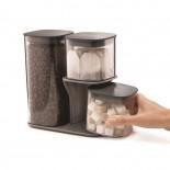 Podium Storage Container Set and Stand 3 Pieces - Joseph Joseph