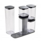 Podium Storage Container Set and Stand 5 Pieces - Joseph Joseph