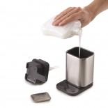 Surface™ Stainless Steel Soap Pump & Soap Bar Set - Joseph Joseph
