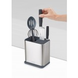 Surface™ Utensil Pot Stainless Steel Knife & Utensil Holder - Joseph Joseph