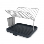 Y-Rack™ 2-Tier Self Draining Dish Rack (Grey) - Joseph Joseph