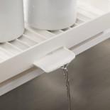 Y-Rack™ 2-Tier Self Draining Dish Rack (White / Green) - Joseph Joseph