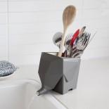 Jumbo Cutlery Drainer (Grey) - Peleg Design