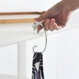 Jumbo Purse Hook (Stainless Steel) - Alessi
