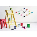 Do It Yourself Cubic Wall Clock (Multicolor) - Karlsson