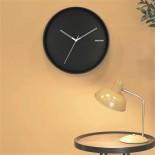 Hue Metal Wall Clock (Black) - Karlsson