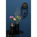 Pendulum Charm Wall Clock (Black) - Karlsson