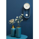 Pendulum Charm Wall Clock (White) - Karlsson