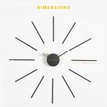 Urchin Wall Clock (Lavender/Olive) - KLOX