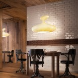 E.T.A. Sat Suspension Lamp (White) - Kundalini