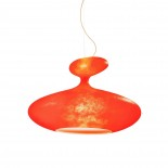 E.T.A. Sat Suspension Lamp (Red) - Kundalini