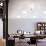 Kushi 33 Ceiling Lamp / Wall Lamp LED or E27 Option (Black) - Kundalini