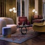 Kushi LED Floor Lamp (Brass) - Kundalini