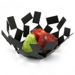 """""""La Stanza dello Scirocco"""" Fruit Holder (Black) - Alessi"""