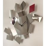 """""""La Stanza dello Scirocco"""" Wall Clock (Stainless Steel) - Alessi"""