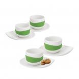 Leaf Espresso Cup & Saucer (Set of 4) - PO: Selected