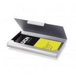 Card Box 20 Business Card Case (Brown) - LEXON
