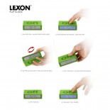 Flip LCD Alarm Clock Red - LEXON