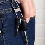 Hook Double Key Ring (Soft Gold) - LEXON