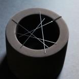 Line Pendant L (Black) - Moorigin