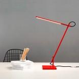 Linelight LED Desk Lamp (Red) - Shibui
