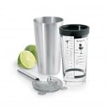 LOUNGE Boston Shaker Set 500ml (Stainless steel) - Blomus