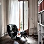 Voido Rocking Chair Black Lacquered Version - Magis