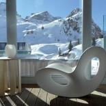 Voido Rocking Chair (White) - Magis