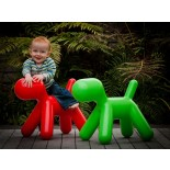 Me Too Puppy Children's Stool L (Green) - Magis