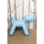 Me Too Puppy Children's Stool L (Turquoise) - Magis