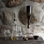 Wine Βreather Deluxe Carafe (Gold) - Menu