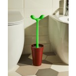 Merdolino Toilet Brush (Brown) - Alessi