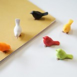 Mini Sparrow Magnets (Set of 6) - Qualy