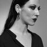 Mirilla Earrings (Black) - Walker Chao