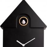 Modern Cuckoo Wall Clock (Black) - Karlsson