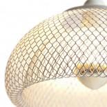 Moiré Ceiling Lamp 20cm (White) - The Fundamental Group