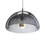 Moiré Ceiling Lamp 30cm (Black) - The Fundamental Group
