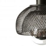 Moiré Ceiling Lamp 20cm (Black) - The Fundamental Group