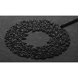 Leafy Pendant L (Black) - Moorigin