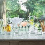 Moya Wine Balloon Wine Glasses 550ml Set of 2 (Clear) - LSA