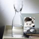 Mr. & Mrs. Night Water Set Tall (Clear) - Nude Glass